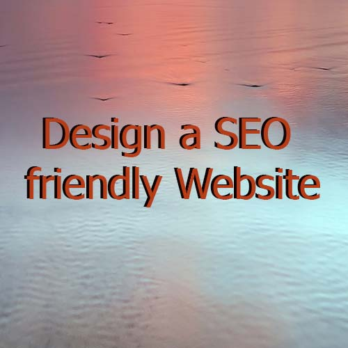 design a seo firendly website